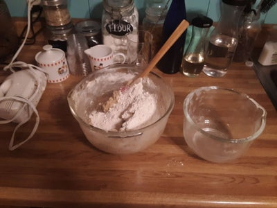 Mix Wet and Dry Ingredients