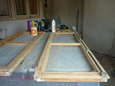 Remove Old Paint From Recycled Windows