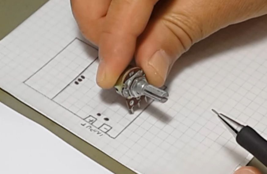 Picture of HOW TO MAKE a PCB USING MARKER PEN.