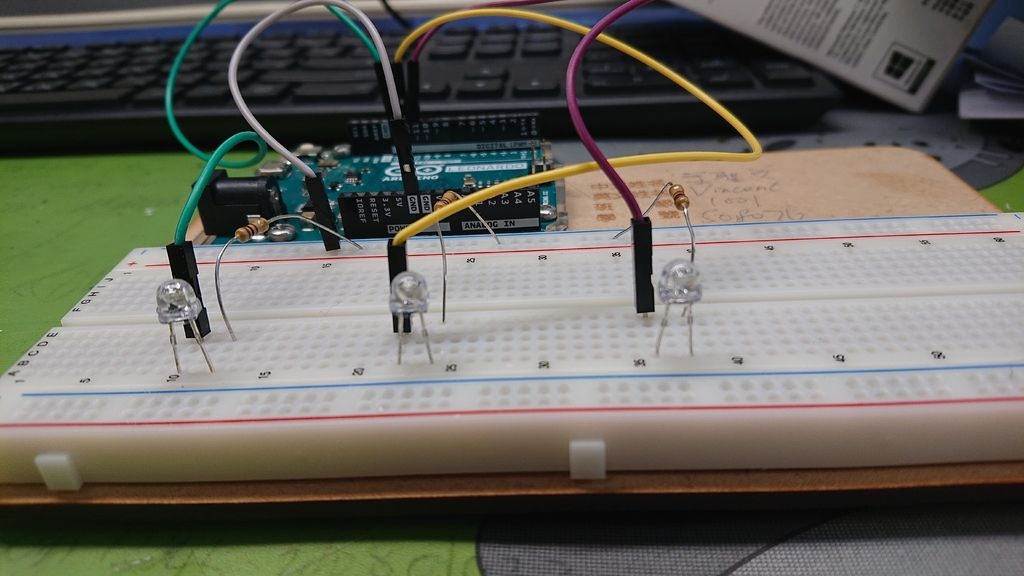 Picture of Step 1 : LED, Arduino Connection