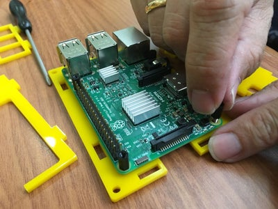 Assemble the Raspberry Pi Enclosure