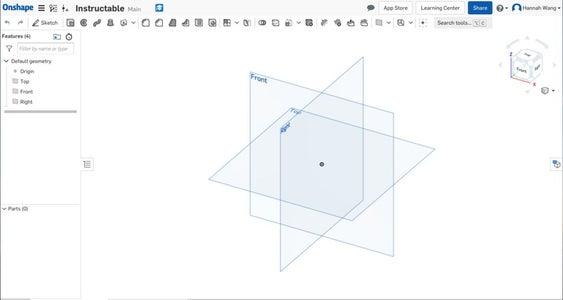 Create a New OnShape File
