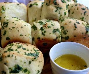 分开大蒜面包配方