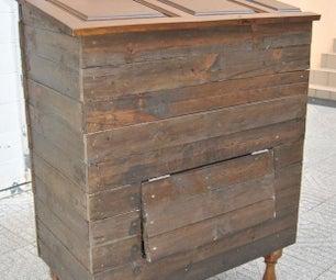 环保的堆肥箱