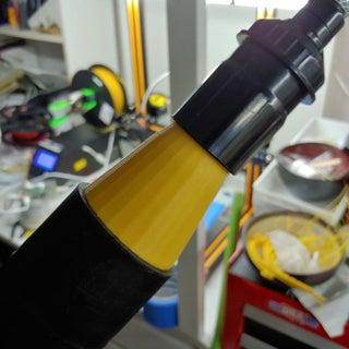 真空除尘口适配器与Tinkercad