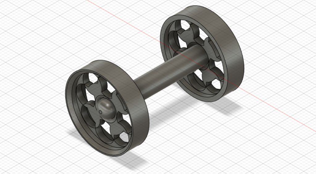 Picture of Manufacture of Wheels and Axles