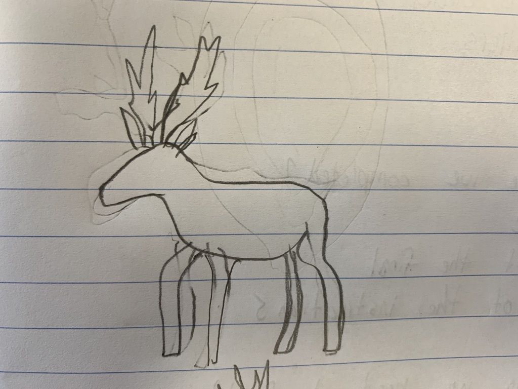 Picture of Sketching the Deer