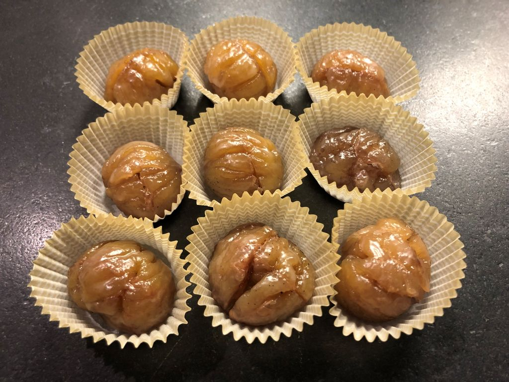 Picture of Marron Glacé (Candied and Glazed Chestnuts)