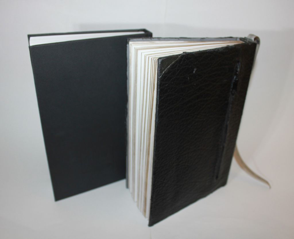Picture of Fashionable Leather Notebook With Zipper