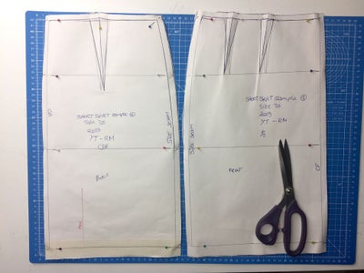 Step 3: Cutting, Pinning and Sewing Preparation