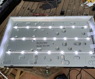 LG 32 TV repair (Led strips change)
