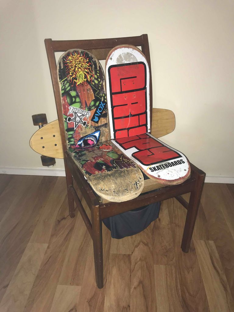 Picture of Breathe SKATE Life Into an Old Chair!