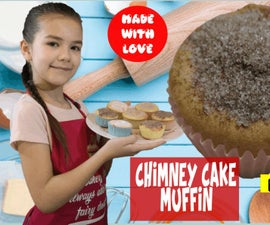 How to Make Chimney Cake Muffin