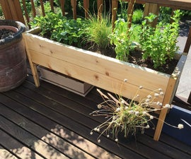 Raised Planter Bed