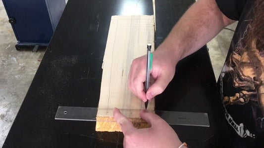 Marking Perimeter and Drilling Holes