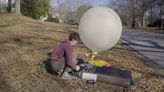 Fill Up Weather Balloon