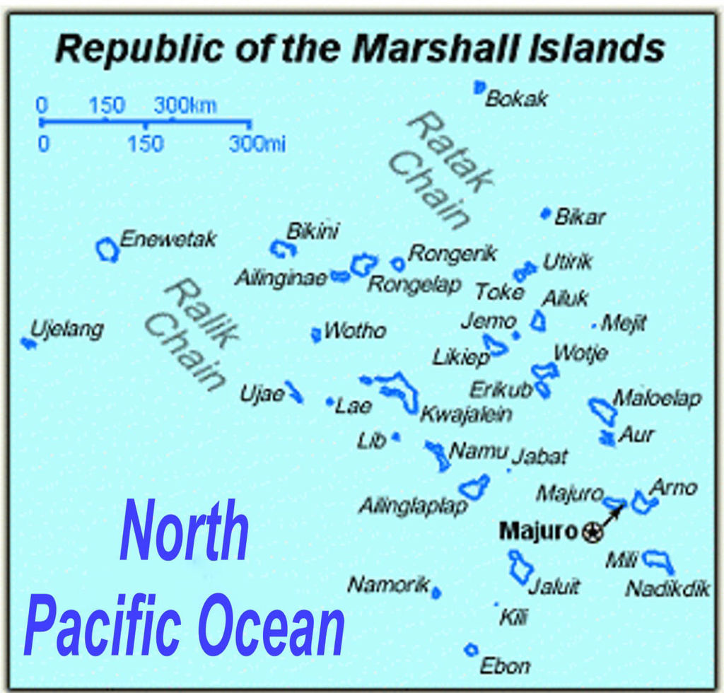 Picture of The Marshall Islands and the Language