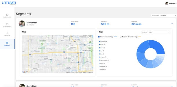 Your Litter Picking Efforts Get Mapped, Organized, & Vizualized