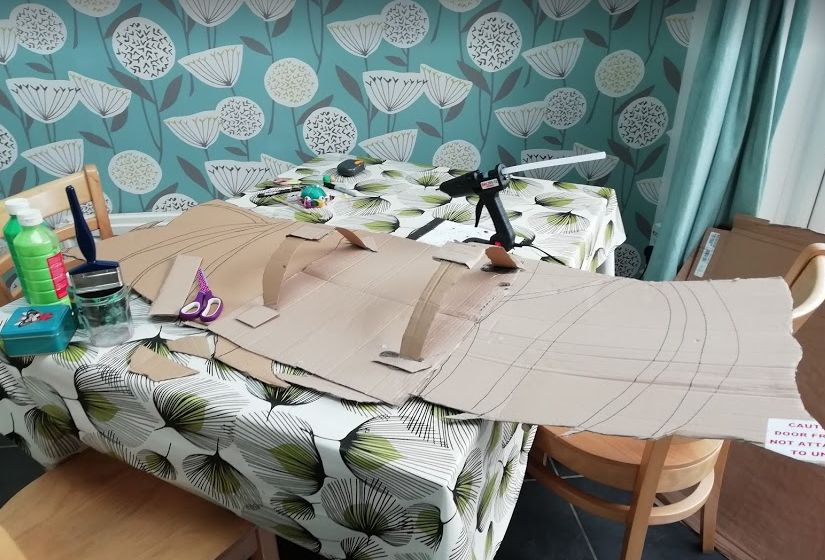 Picture of Making the Wings- Part 3- Making Them Wearable