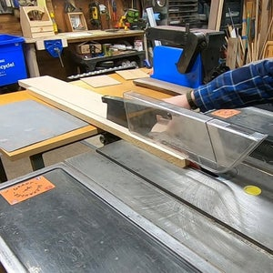 Making the Ends Part 1 - Jointing, Cutting to Width and Length