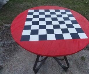 室外跳棋/国际象棋表