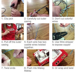 Hacking Old Ethernet Cables or Cat5