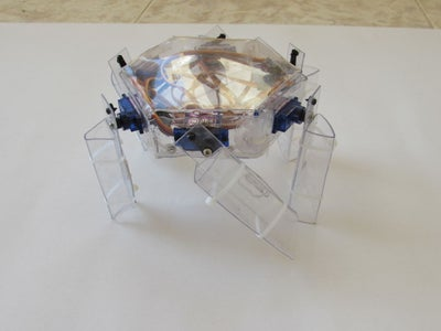 The Structure of Hexapod Robot.