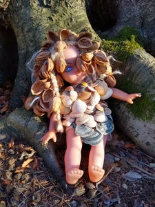 Mrs NutShell, the Percussive Doll