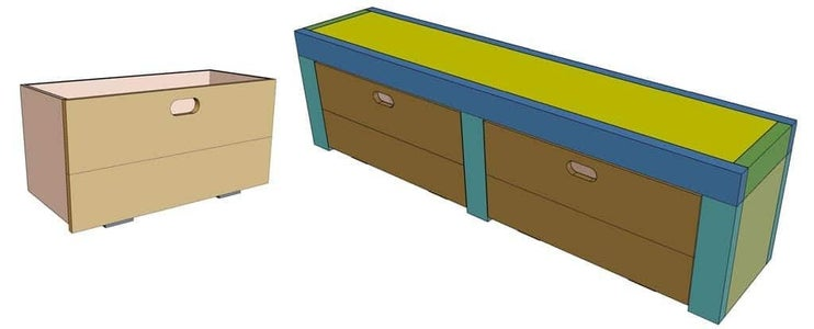 Attach Front Cover to the Boxes