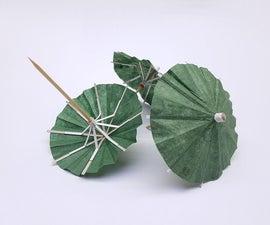 DIY鸡尾酒雨伞