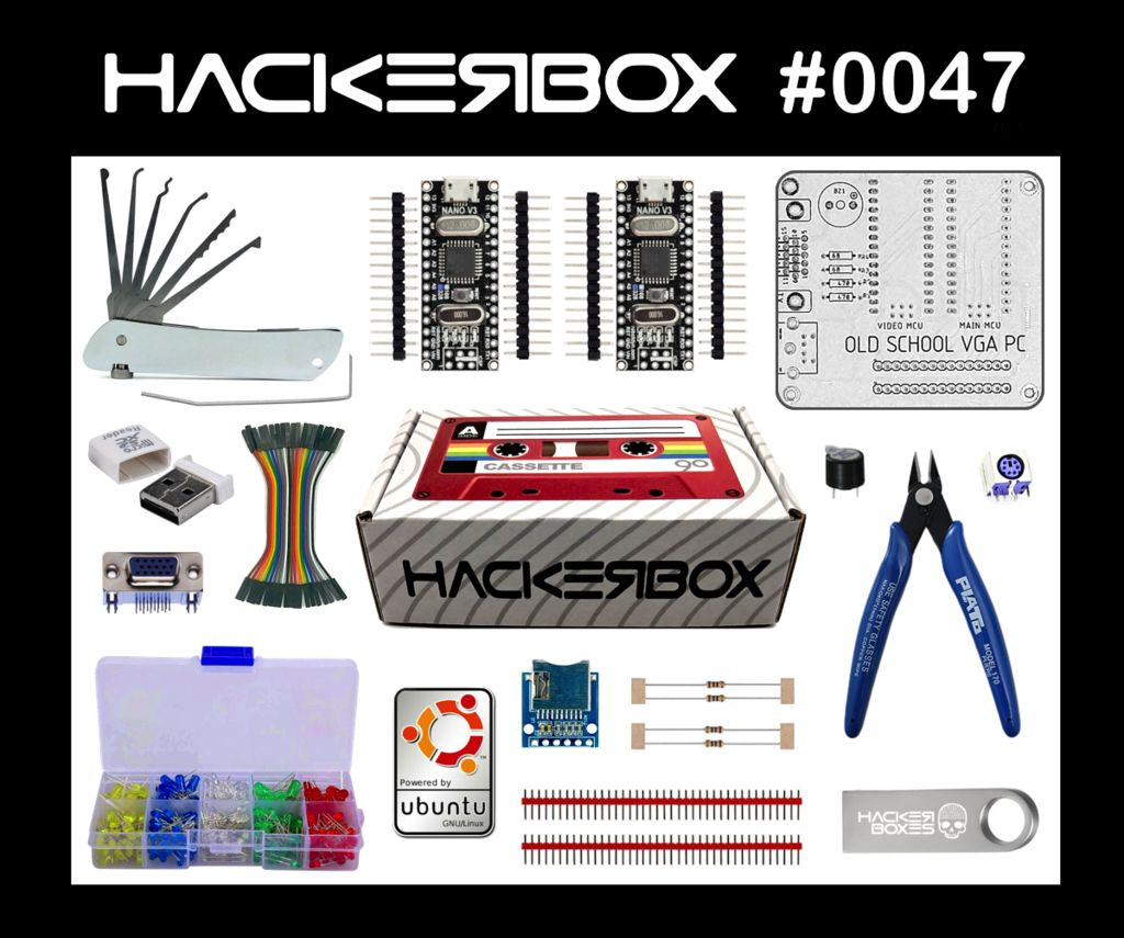 Picture of HackerBox 0047: Old School
