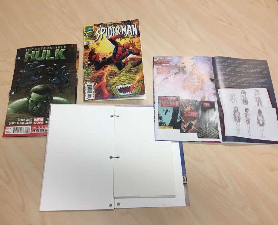 Picture of Comic Book Sketch Book