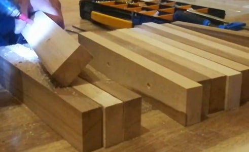 Assemble the Pieces for Chairs