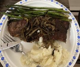 Steak Dinner - Cheap Hardware - Priceless Meal!