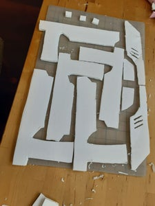 Cutting Out the Pieces