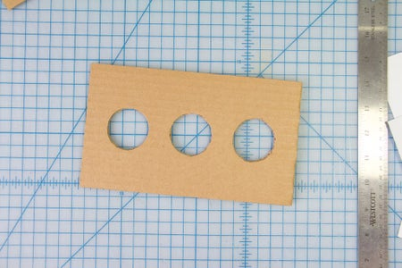 Build the Box: Trace and Cut Out the Shapes