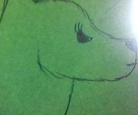 如何绘制一个狼头