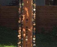 Sparkly Column Outdoor Mobile