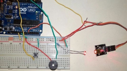 Laser Based Security System With Arduino