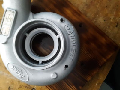 Drill Holes to Mount Turbo to Wood