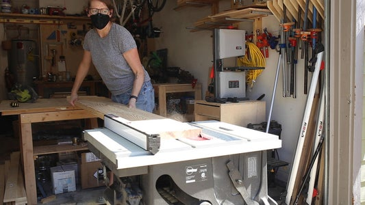 Cut the Boards for the Outer Frame