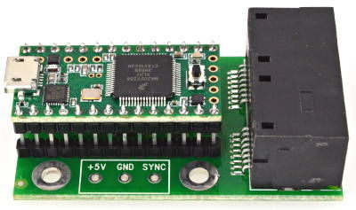 The Brain of the System- Teensy 3.2 and OctoWS2811 Adapter