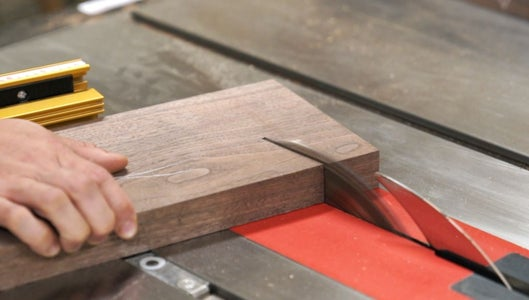 Making the Legs (Cutting Parts)