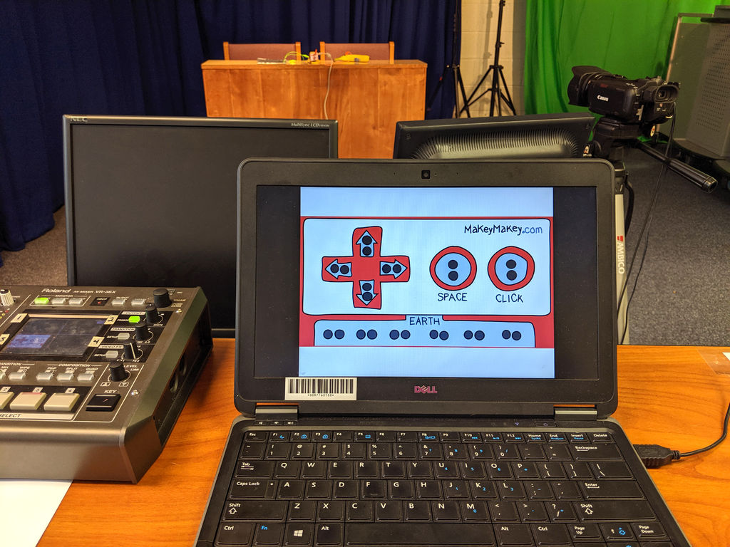 Picture of Makey Makey Morning News!