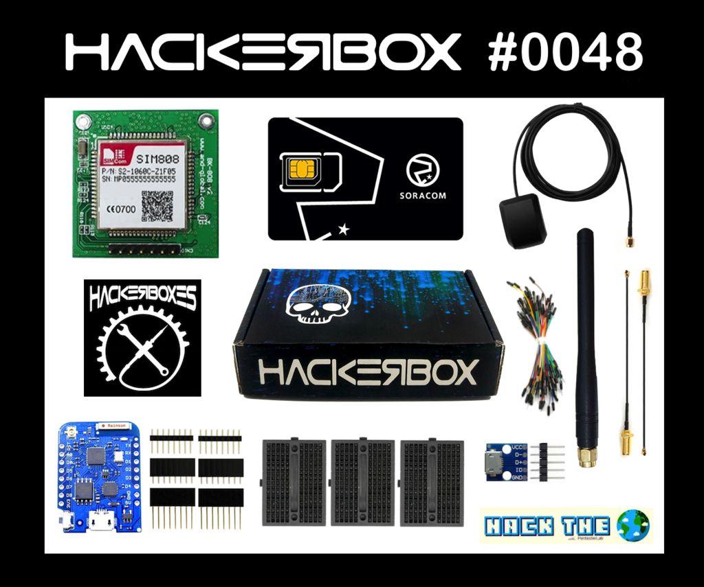 Picture of HackerBox 0048: SIMSAT