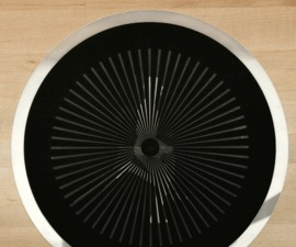 Circular Moiré Slit Animation