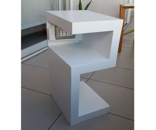 Velador / Bedside Table (Left)