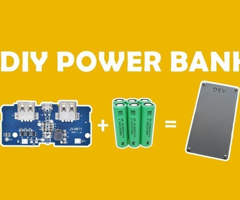 DIY PowerBank From Old Laptop Batteries