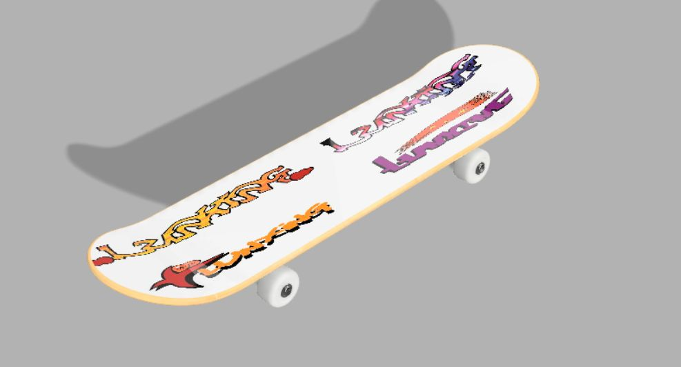 Picture of Beautiful Skateboard