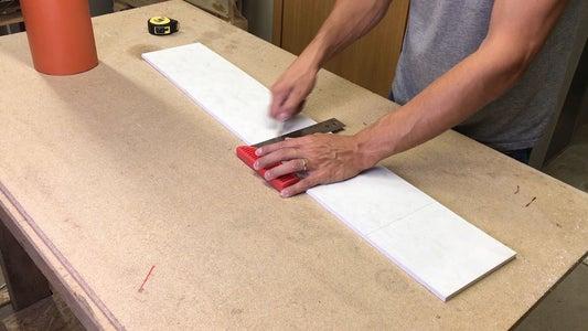 Preparing Material for Shelves
